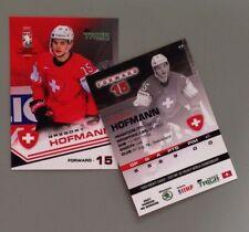 Taiga Gregory Hofmann Team Switzerland IIHF World Championship 2021