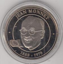 Médaille contemporaine Française les grands hommes Jean Monnet 1888-1979