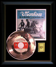 THE MONKEES I'M A BELIEVER RARE GOLD RECORD DISC 45 RPM