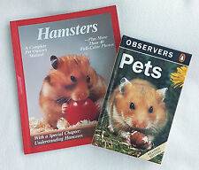 2 books OBSERVERS SERIES PETS & HAMSTERS Complete Owner's manual NEW Bargain