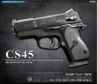 Academy CS45 Spring Airsoft Powered Pistol Hand Grips 6mm BB Gun Military