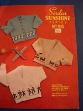 Sirdar `Sunshine`Series Children's Cardigans Set . ages 2 - 4 years.