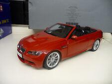1:18 Kyosho bmw m3 convertible e93 rojo dealer Edition nuevo New