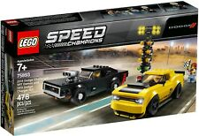 LEGO Speed Champions 75893 - 2018 Dodge Challenger Srt Demon E 1970 Dodge Charge