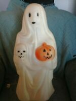 """VINTAGE 1991 HALLOWEEN EMPIRE 22"""" GHOST BLOW MOLD #5"""