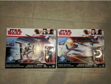 Star Wars Force Link Resistance A-Wing Fighter/Canto Bight Police Speeder lot