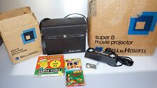 Lot of Bell & Howell 461 Super 8 Projector Movie Camera Lights & Movies