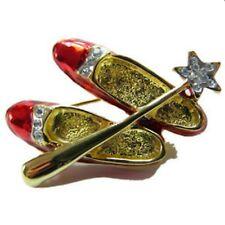 Ruby Slipper Lapel Pin with Wand