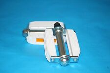 Dragster Lowrider Bike Bicycle Pedals White Steel PVC Block 9/16 Inch Part 3515W