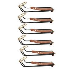 6Pcs/Set Pool Billiard Table Metal Pocket Rail Snooker Accessories Supplies