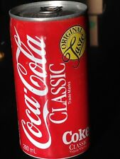 RARE 1988 COCA COLA CALGARY OLYMPIC COKE CAN FROM CANADA EMPTY WITH SEALED TOP