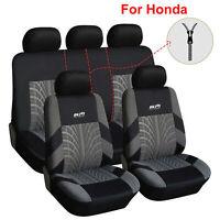 Universal Polyester Car Seat Cover Full Set 9PCS Fit for Honda CR-V HRV Insight