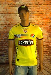 Marathon 2012 TC Primero Barcelona SC CAMPEON Yellow Jersey Shirt Size M