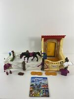 Playmobil #6934 Horse Stable with Araber - Ebony - Complete No Box