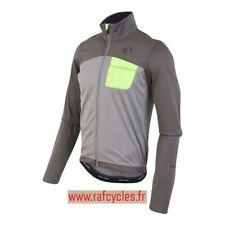 Veste Route PEARL IZUMI Homme Hiver Select Escape Softshell Gris / vert Taille M