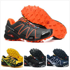 New Men's Salomon SpeedCross 3 running shoes outdoor off-road Athletic Shoes