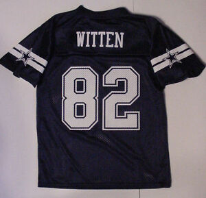 NWT Jason Witten 82 Jersey YOUTH Boys Dallas Cowboy Navy Blue Sz XS S M XL