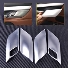Interior Chrome Plated Door Handle Cover Trim Fit BMW X5 X6 F15 F16 2014 15-2016