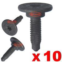 BUMPER BOLT SCREW M6 TORX FOR SOME FIAT ALFA ROMEO LANCIA METAL 46419734 X 10