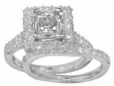 2.75 CT Semi Mount Round Cut Diamond Engagement Ring 14 K