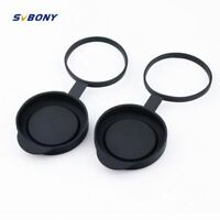 2 pieces Binoculars Protective Rubber Objective Lens Caps 42mm for Telescope wit
