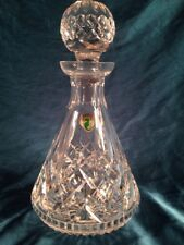 WATERFORD CRYSTAL LISMORE ROLY POLY DECANTER WITH STOPPER – MINT