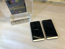 2 X BlackBerry Z30 - 16Gb - Black (Unkown Carrier) ~Cracked Glass~Pls Read