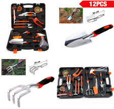 New 12 Pieces Garden Hand Tools Set Home Lawn Kit trowel Household Equipment Bp