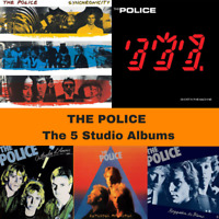 The Police - The Studio Albums Bundle - 5 x 180G Vinyl LP Downloads *BRAND NEW*