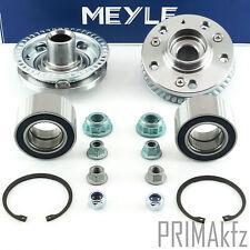 2x Meyle Wheel Bearing+2x Hub Front Rear Audi A3 Seat Leon Skoda VW Bora Golf