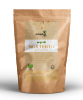 Organic Milk Thistle Seed Powder - Liver Detox | Natural Silybum Marianum | Herb