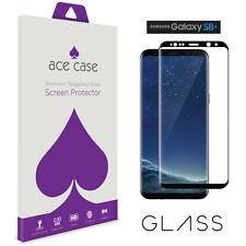Samsung Galaxy S8 plus vidrio pantalla escudo Full 3D Negro cobertura de borde a borde