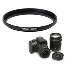 49mm To 52mm Metal Step Up Rings Lens Adapter Filter Camera Tool Accessories New