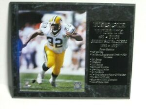 Reggie White - Green Bay Packers pose 2 statistics plaque - New Lower Pricing!!