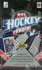 4 BOX LOT 1990-91 UD UPPER DECK HIGH SERIES HOCKEY