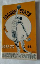 Vintage Basketball NBA 1972-73 GOLDEN STATE WARRIORS Media Guide NATE THURMOND