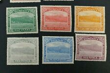 DOMINICA 1921 0.5d to 6d SG 62 - 67 Sc 56 - 61 MLH/MH