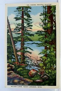 Wyoming WY Laramie Silver Lake Postcard Old Vintage Card View Standard Souvenir