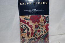 Ralph Lauren Bohemian Muse Larson King Pillow Sham Floral Brown New (1) Sham
