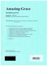 Amazing Grace Blechbläser- Brass-Quartett, geeignet für Schülerorchester Noten