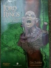 STAR WARS SIDESHOW WETA BUST ORC SOLDIER LORD OF THE RINGS NEW NEVER OPENED