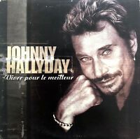 Johnny Hallyday CD Single Vivre Pour Le Meilleur - France (EX/EX+)