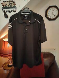 Adidas Climalite Polo Shirt XXL BLACK