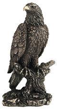 Figur Adler Weißkopfseeadler  Adler Freiheitsstatue Adlerfigur auf Ast Adlerfigu