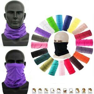 Face Mask Balaclava Neck Scarf Fishing Cover Sun Gator UV Headwear US USA Black