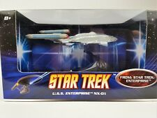 Hot Wheels STAR TREK Model 1:50 Scale Diecast - USS Enterprise NX-01 Brand NEW