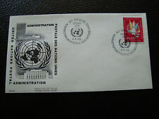 NATIONS-UNIES (geneve) - enveloppe 1er jour 4/10/1969 (cy64) united nations (A)