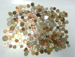 Bundle Job Lot Mixed World Currencies Coins New Old/ Vintage Others 1.5Kg #817