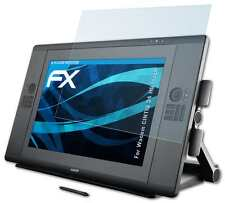 2x FX-Clear Displayschutzfolie Wacom CINTIQ 24 HD touch Schutzfolie Folie
