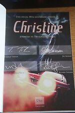 RARE UK PS PUBL STEPHEN KING 30th ANNIVERSARY EDITION CHRISTINE W/SLIPCASE #590